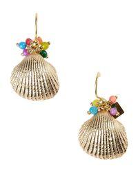 Rosantica Metallic Earrings