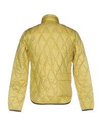 BPD Be Proud Of This Dress Yellow Down Jacket for men
