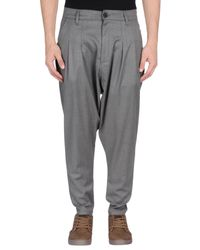 MNML Couture Gray Casual Trouser for men
