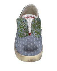 Ishikawa Blue Low-tops & Sneakers