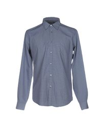 Department 5 Blue Shirt for men