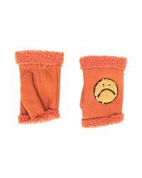 Guantes Agnelle de color Orange