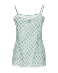 SCEE by TWINSET Blue Top