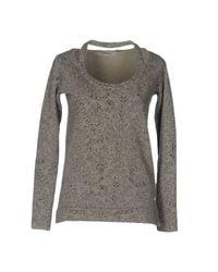 40weft Gray Sweatshirt