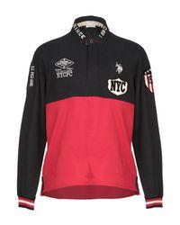 U.S. POLO ASSN. Black Polo Shirt for men
