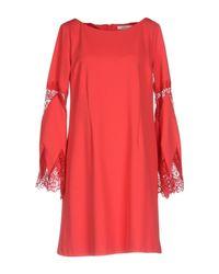 Lucky Lu Milano Red Short Dress