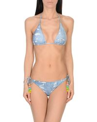 Emamó Blue Bikini
