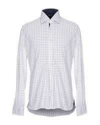 Camicia di Domenico Tagliente in White da Uomo