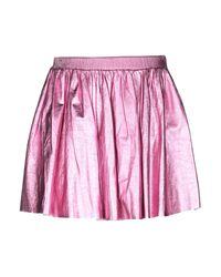 Minigonna di Philipp Plein in Pink