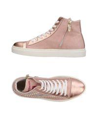 D'Acquasparta Pink High-tops & Sneakers