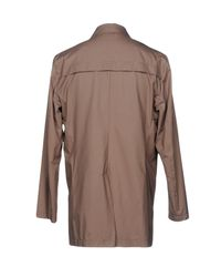 Eleventy Multicolor Overcoat for men