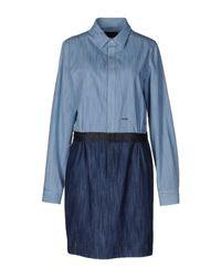 DSquared² Blue Kurzes Kleid