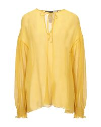 Blusa di Sportmax Code in Yellow