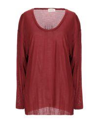 Camiseta American Vintage de color Red