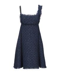 Robe courte Giamba en coloris Blue