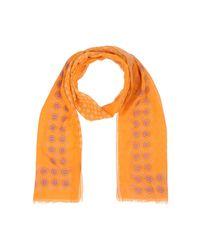 Altea - Orange Oblong Scarf for Men - Lyst