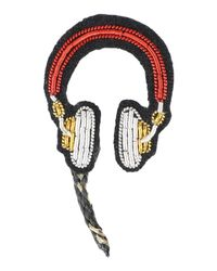 Macon & Lesquoy - Red Brooch - Lyst