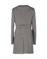 Tagliatore 0205 Gray Overcoat