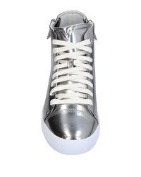 DIESEL Metallic High-tops & Sneakers