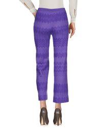 Pantalone di Missoni in Purple