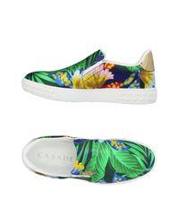 Casadei Green Sneakers