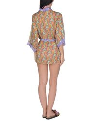 Blugirl Blumarine Multicolor Beach Dress