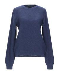 Zanone Blue Sweater