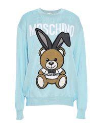 Moschino Blue Sweater
