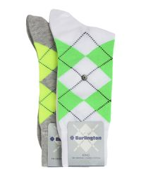 Burlington White Socks for men