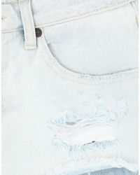 One Teaspoon Blue Denim Shorts