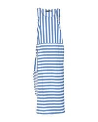Robe longue Love Moschino en coloris Blue