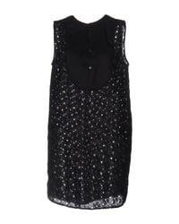 Department 5 Black Short Dress