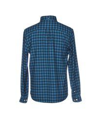 Edwin Hemd in Blue für Herren