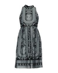 Erdem Blue Short Dress