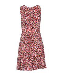 Diane von Furstenberg Red Short Dress