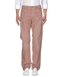 Jaggy - Pink Denim Pants for Men - Lyst