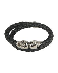 Eleventy - Black Bracelet - Lyst