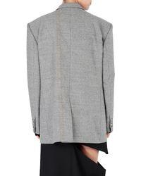 Veste Maison Margiela en coloris Gray