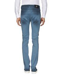 Pantalone di Versace in Blue da Uomo