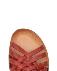A.s.98 Red Sandals