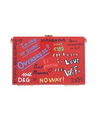 Borse a tracolla di Dolce & Gabbana in Red