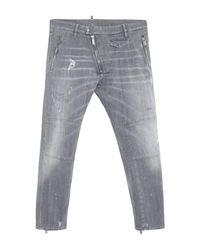 Pantaloni jeans di DSquared² in Gray da Uomo