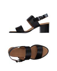 Veronique Branquinho Black Sandals
