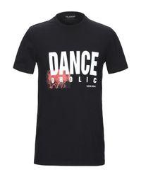 T-shirt di Neil Barrett in Black da Uomo