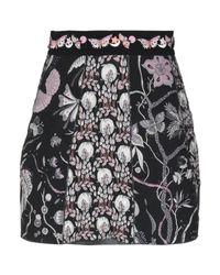 Minifalda Giamba de color Black