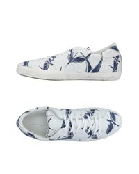 Philippe Model White Low-tops & Sneakers for men