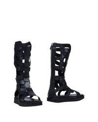 Vic Matié Black Boots