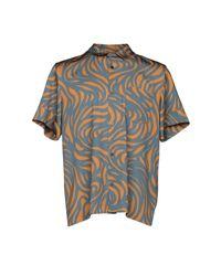 Wooyoungmi Brown Shirt for men