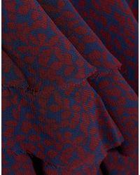 Robe courte IRO en coloris Purple