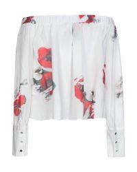 Cacharel White Bluse